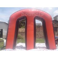 Quality Red Commercial Grade PVC Tarpaulin Inflatable M Millennium Paintball Bunker for Outdoor Sports wholesale
