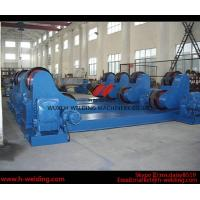 Quality 5 Ton Self-aligned Pipe Rotators for Welding , Tank Turning Rolls for Vessel / Boiler wholesale