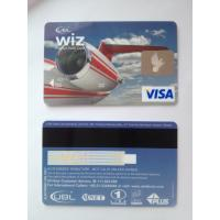Quality Visa smart debit prepaid hologram hico magnetic stripe credit card wholesale