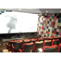 Quality Large Capacity 4DM Motion Chair 4D Movie Theatre With Special Effect Control System wholesale