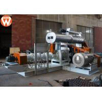 Quality 4T/H Wet Type Fish Feed Extruder Machine With Modulator Power 5.5KW Screw 200mm wholesale