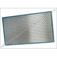 Quality Durable National D380 Shaker Double Deck Screen Blue Hexagonal Pattern wholesale