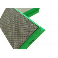 Quality Electroplated Diamond Tools Electroplated Diamond Pads Green , Red , Yellow , White Color wholesale