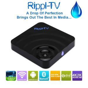 Quality Smart tv box Android™4.4.2 KitKat Amlogic S802 Quad Core Cortex™ A9r4 2GHz Mini PC TV BOX wholesale