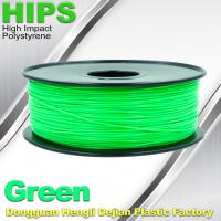 Quality OEM HIPS 3D Printer Filament Consumables , Reprap Filament 1.75mm / 3.0mm wholesale
