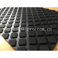 Quality Heavy duty rubber car mats , Custom size Anti-slip rubber mats for garage floors wholesale