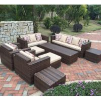 China 2016 newest 9 pcs rattan wicker garden furniture Arsigali AW0034 on sale