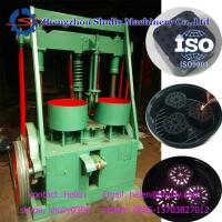 China Plant high quality low consumption coal dust shisha charcoal briquette machine with low price on sale