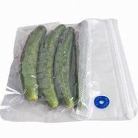 China Plastic Transparent Frozen Fish Vacuum Packaging Bags For Many Fresh Food Products on sale