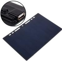 Waterproof Solar Mobile Phone Charger , 5W 5V Solar Battery Charger For Phone