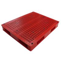 China Big size heavy duty double faced used plastic pallets for sale on sale