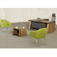 Quality Medium Size Office Manager Desk Waterproof High Durability With Coffee Table wholesale