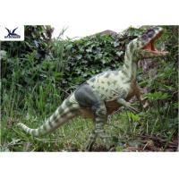 Quality Moving Realistic Dinosaur Statues Model For Dinosaur World Museum Display wholesale