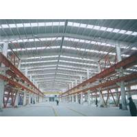 Buy cheap Q235b Q345b Steel Structure Construction Workshop / Warehouse / Office from wholesalers