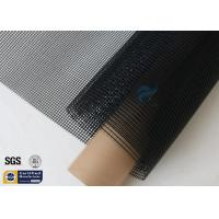 Quality Black PTFE Coated Fiberglass Mesh Fabric 580GSM 4M Wide Conveyor Belt Sealing wholesale
