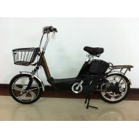 18 Inch Electric Motorized Bicycle with 48V 12A Lead Acid Rechargeable Battery