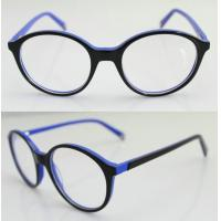 Cheap Fashion Round Blue Acetate Optical Frame For Men, Women 47-20-137mm for sale