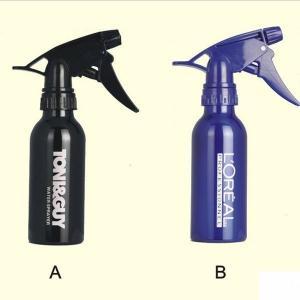 China Custom Black, Purple 150ml Aluminum Hair Salon Fine Mist Spray Bottle on sale