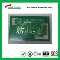 Cheap Aeronautics Printed Circuit Board 8L FR4 Immersion Gold + Hard Gold Quick Turn for sale