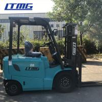 China Ltmg 4 Wheel Electric Forklift Truck Low Running Cost With LED Lamp And 450ah Battery on sale