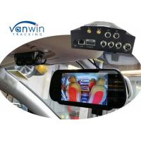 Quality Vehicle Security cameras system NVR 4 Channel Mobile DVR 3G GPS WIFI MDVR HDD Storage wholesale