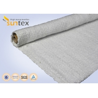 China 650C Ceramic Fiber High Temperature Cloth For Heat Insulation Kit on sale