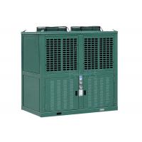 Quality R404a Low Temperature Commercial Refrigeration Condensing Units Green Color 10 Horsepower wholesale