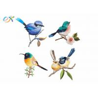 Quality Cute Birds Delicate Small Embroidered Patches With Iron On Applique Patch wholesale
