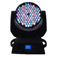 Quality Dmx 108 X 3W LED Moving Head Light  / Stage Wash Lighting High Power wholesale
