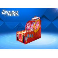 China Amsuement Lottery hoopla Vending Machine Throwing Ring coin operated cabinet hoopla skill wall game machine on sale