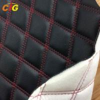 Buy cheap PU Synthetic Leather Fabric Bonded Sponge And Nonwoven For Furniture / Carpet from wholesalers