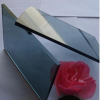 Quality Colored Flat reflective window glass , energy saving reflective bronze glass wholesale