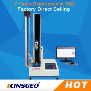 Quality USA Sensor Single Column Compression Testing Machine , Paper Pressure Testing Equipments with PC Control wholesale