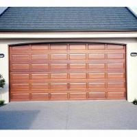 Quality Raised panel solid wood sectional door with heavy-duty hardware wholesale