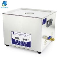 Quality 15L Fast Cleaning Digital Ultrasonic Cleaner With Degas Function For Oily Parts wholesale