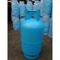 Quality 11kg Refilled Steel LP Gas Cylinder , Libya Lpg Tanks With Valve wholesale