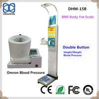 Quality DHM-15BB Weight and height body scale with blood pressure monitor measuring weighing whigh test wholesale