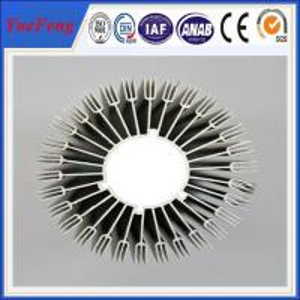 China custom aluminium extrusion heatsink, OEM aluminum heatsink extrusion profile on sale
