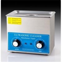 Quality CE Approval 0.6 Kw Benchtop Ultrasonic Cleaner White Color For Clock Parts wholesale