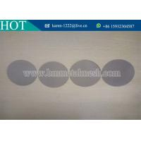 Quality Stainless Steel Extruder Screens For Filters,Dutch Weave 12*64 Filter Discs wholesale