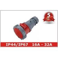 Quality Pin and Sleeve Plug Industrial Power Socket IP44 IP67 Coupler Connector wholesale