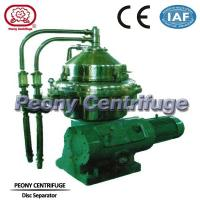 Buy cheap Food Centrifuge / Disc Type Centrifuge for Vegetable Oil Extraction product