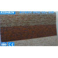 Quality Light Weight Exterior Wall PU Sandwich Panel , Polyurethane Foam Sandwich Panels wholesale