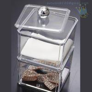 Quality CB (63) crystal acrylic makeup organizer wholesale