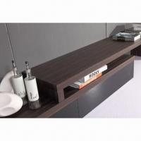 Quality TV Stand with MDF, glossy paint and walnut wholesale