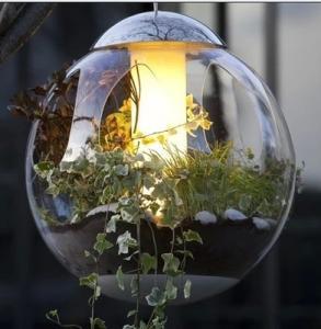 Cheap home docor clear acrylic spheres for sale