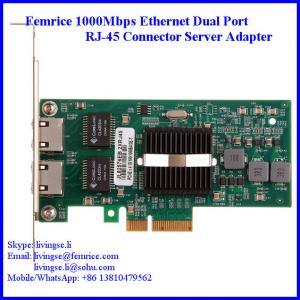 Quality 1.25Gbps/10km Gigabit Server Ethernet Network Card, RJ-45 Copper Cable 10002ET wholesale