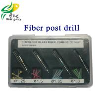 China Discolored Glass Fiber Post Drill High Performance For Dental Lab on sale