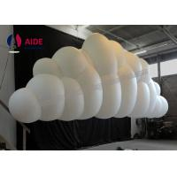 Quality Custom Made Inflatable Lighting Decoration For Stage Big Cloud Shaped Balloons wholesale