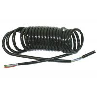 Quality Coiled Power Cord  , Curly Electric Cable For Truck Trailer Signal Transmission wholesale